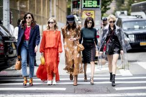 New York Fashion Week Models Street Fashion