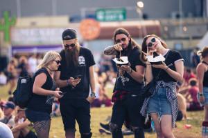 People Enjoying Reading Festival