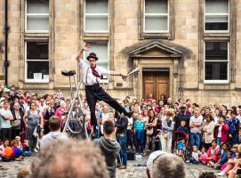 Edinburgh Fringe Festival Street Performer