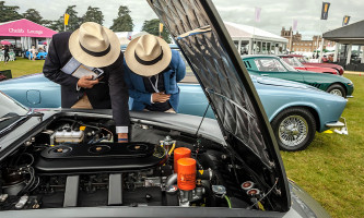Chubb Insurance Concours dElegance Judges Salon Prive