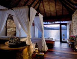 two bedroom overwater Luxury Island Escape