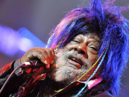 George Clinton performing at Byron Bay Bluesfest