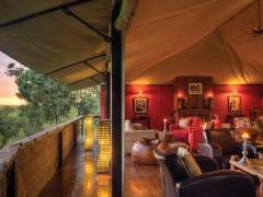 Olare Mara Kempinski Masai Mara lounges and bars