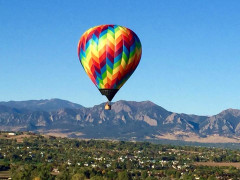 Rocky Mountain Hot Air Balloon Ride
