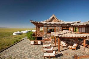Three Camel Lodge Mongolia Exterior