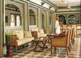 root amrit sagar lounge Taj Lake Palace
