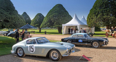 Classic cars at Concours of Elegance Hampton Court Palace