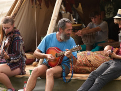 People Playing Music at Green Gathering