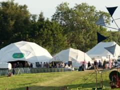 Tents at Green Gathering