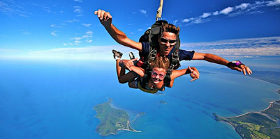 Skydive Over The Great Barrier Reef