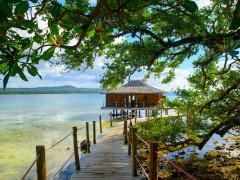 Spa Hut at Ratua Private Island