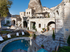 Outdoor Area at Anatolian Cave Houses