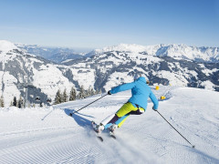 People skiing in Tyrol
